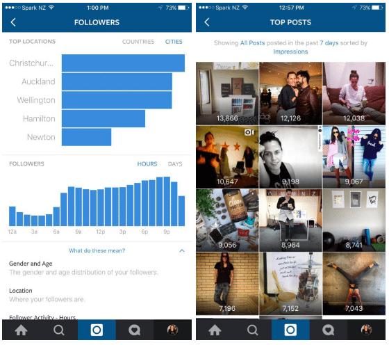 Instagram negocios herramienta business tool