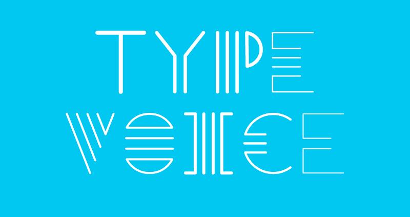 voz tipografía diseño web