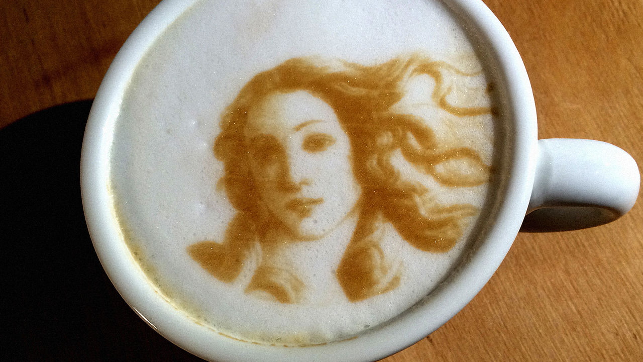 impresora café 3D cafetera