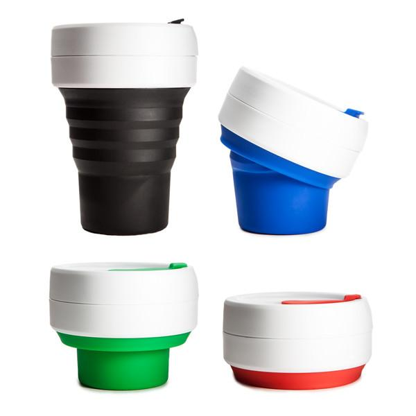 taza cafe stojo ecologico plegable packaging
