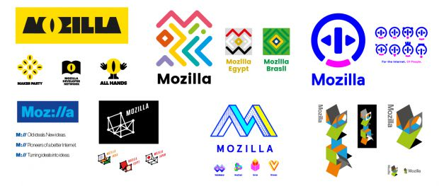 Rebranding de Mozilla, rediseño Mozilla