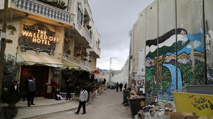 obra de Banksy, Banksy artista contemporaneo, Walled Off Hotel Banksy