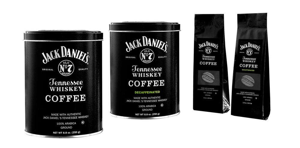 café de Jack Daniels, café de Jack Daniel's, Jack Daniel's coffee
