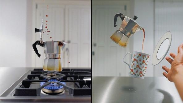 kitchensuspension, arte café, diseño café