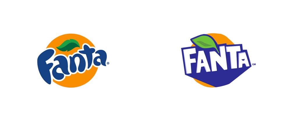 packaging de fanta, logo de fanta, diseño de fanta