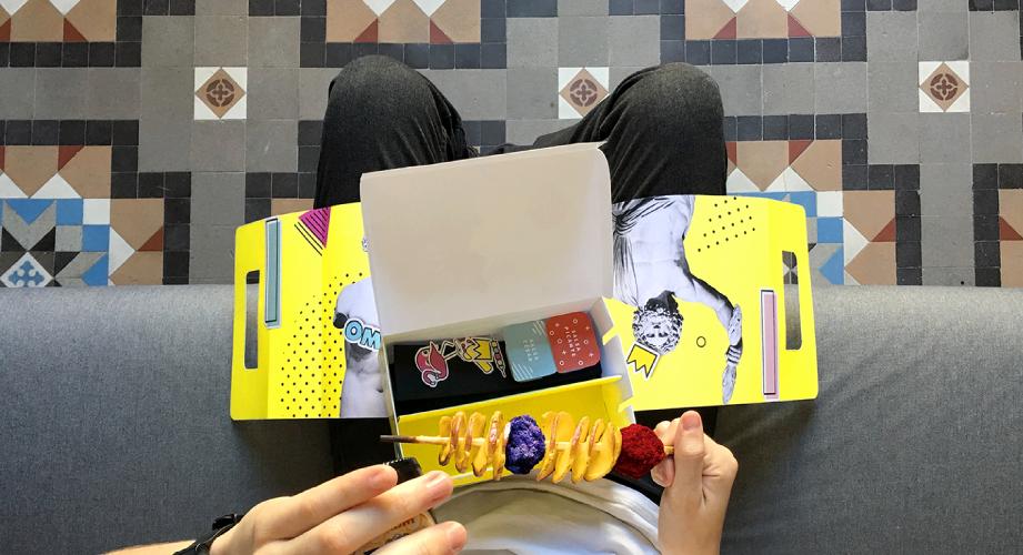 concepto de restaurante, diseño de packaging, diseño y gastronomía