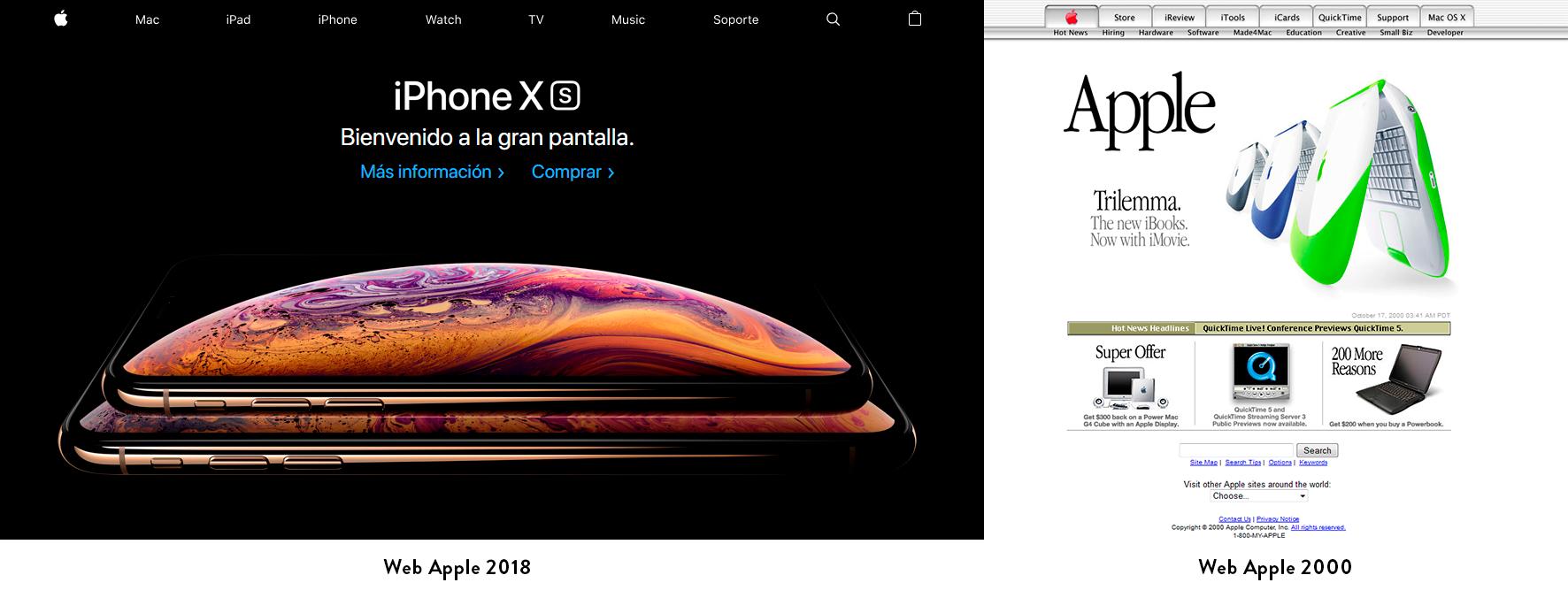 tendencias diseño web, tendencias diseño web 2019, diseño nike
