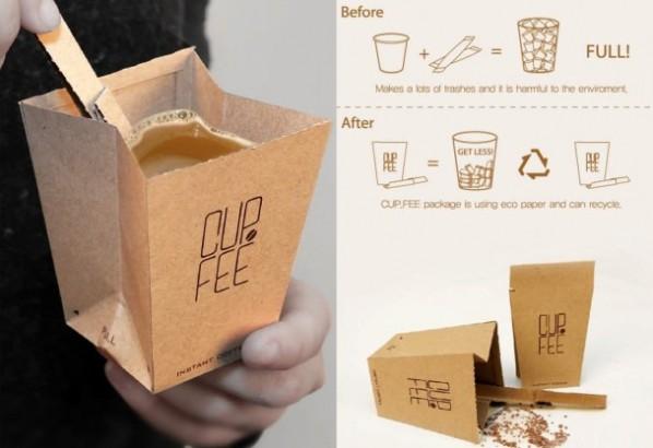 Café lunes reciclar