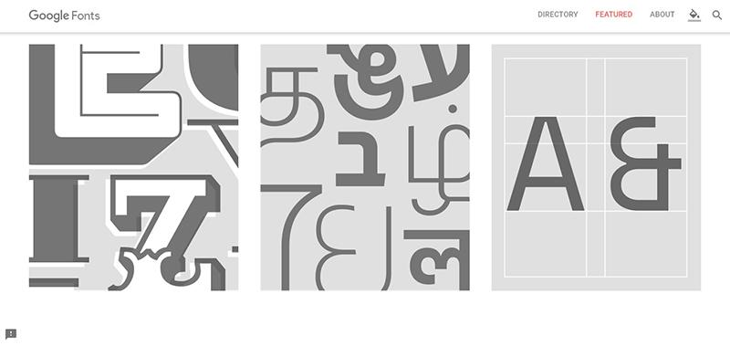 google fonts tipografía fuentes gratuita