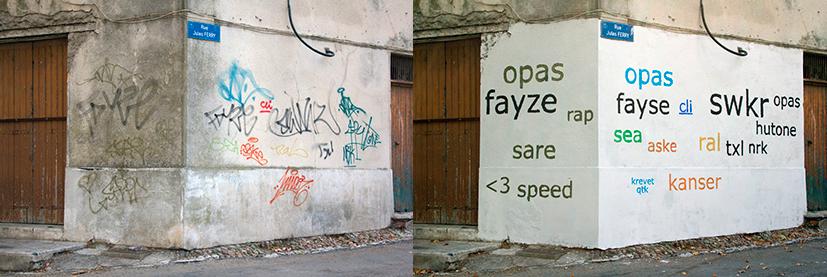 grafiti diseño arte tipografía helvética