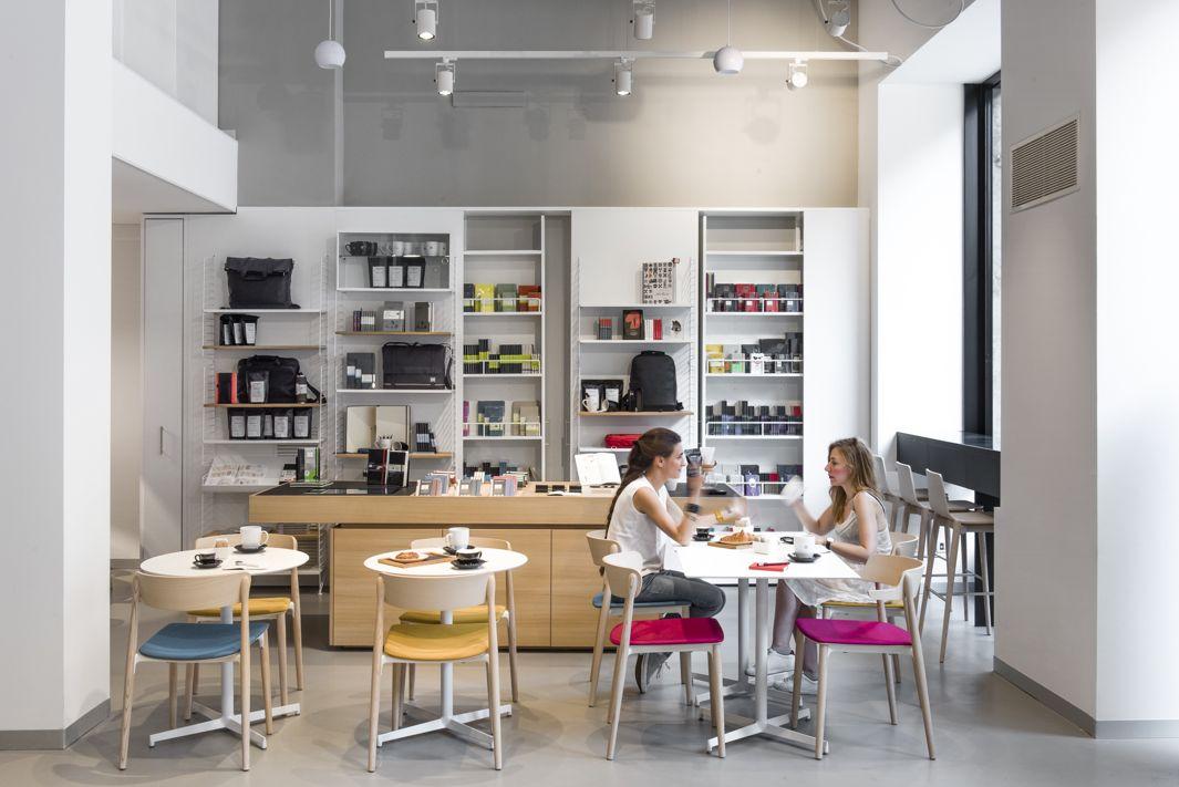 cafetería moleskine diseño café hipster