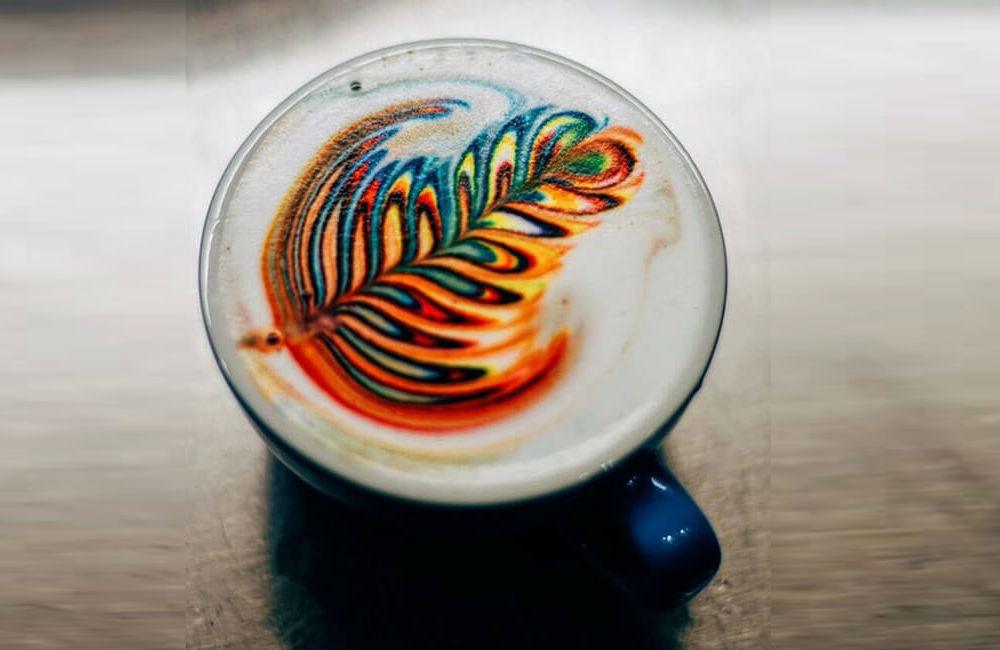 arte latte, arte con café, latte art