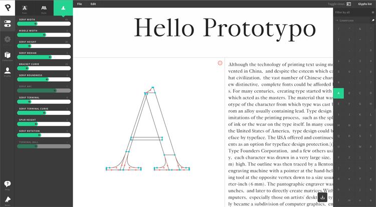 hacer una tipografía, hacer una fuente, hacer una letra