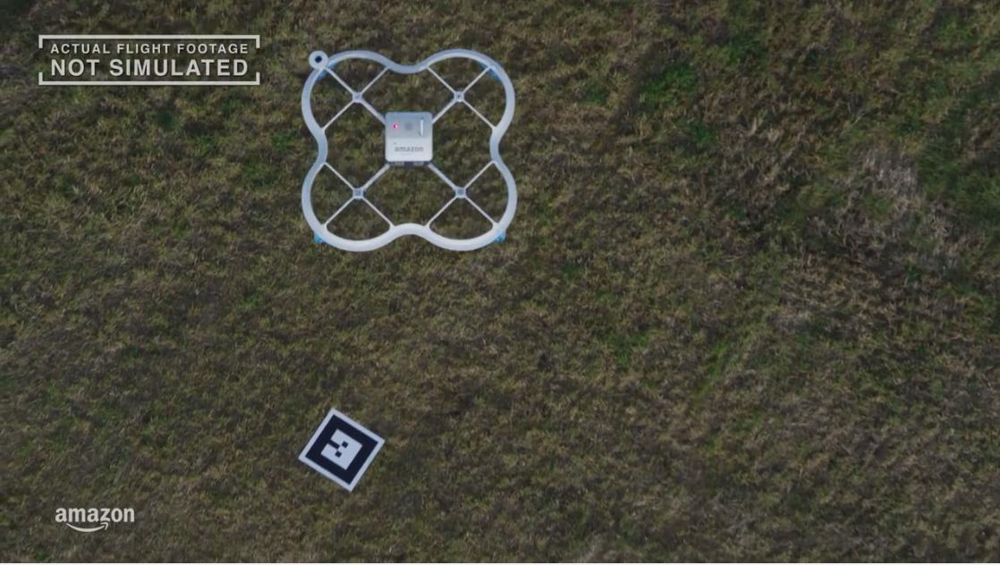 reparto con drones, amazon prime air, e-commerce drones