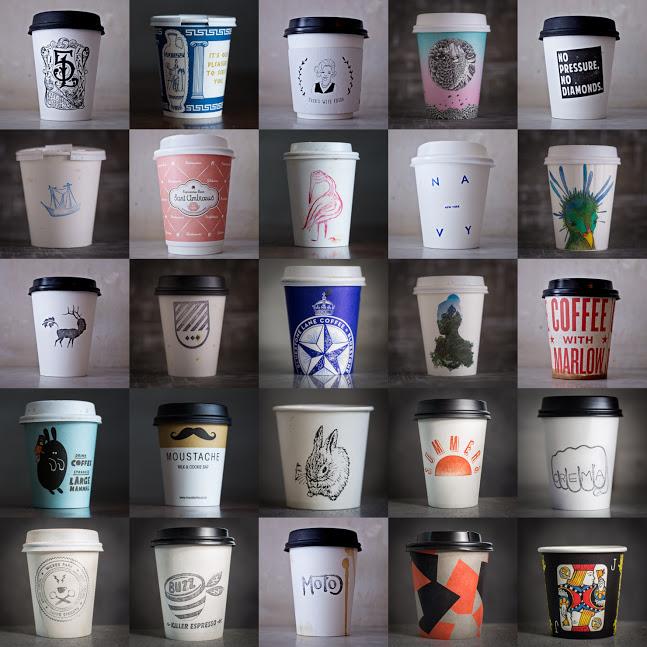 café para llevar, vaso de café