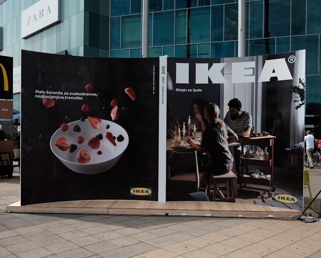 street marketing, ikea publicidad, ikea marketing