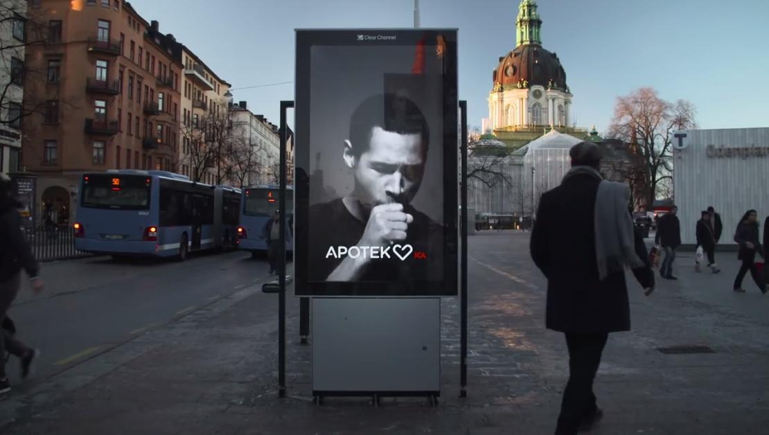 valla de publicidad