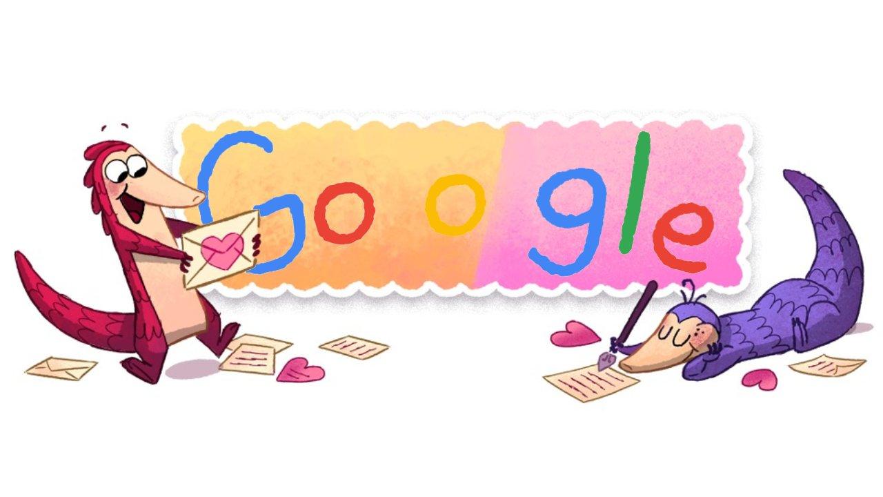 doodle de san valentín, Doodle google, google san valentin