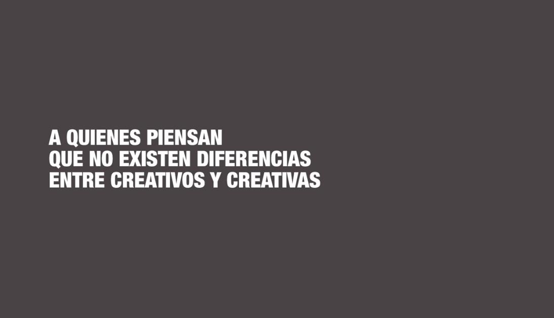 campaña de Más Mujeres Creativas, Más Mujeres Creativas, sector publicitario españa