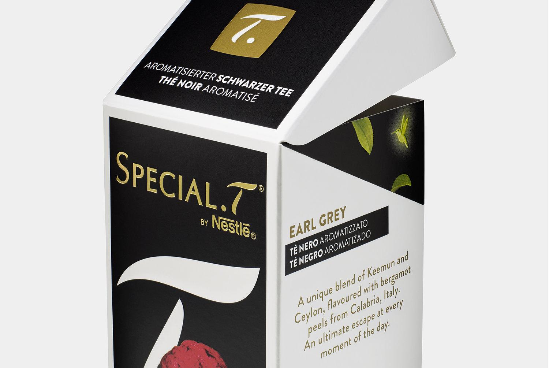 packaging de te, diseño de packaging, packaging nestle