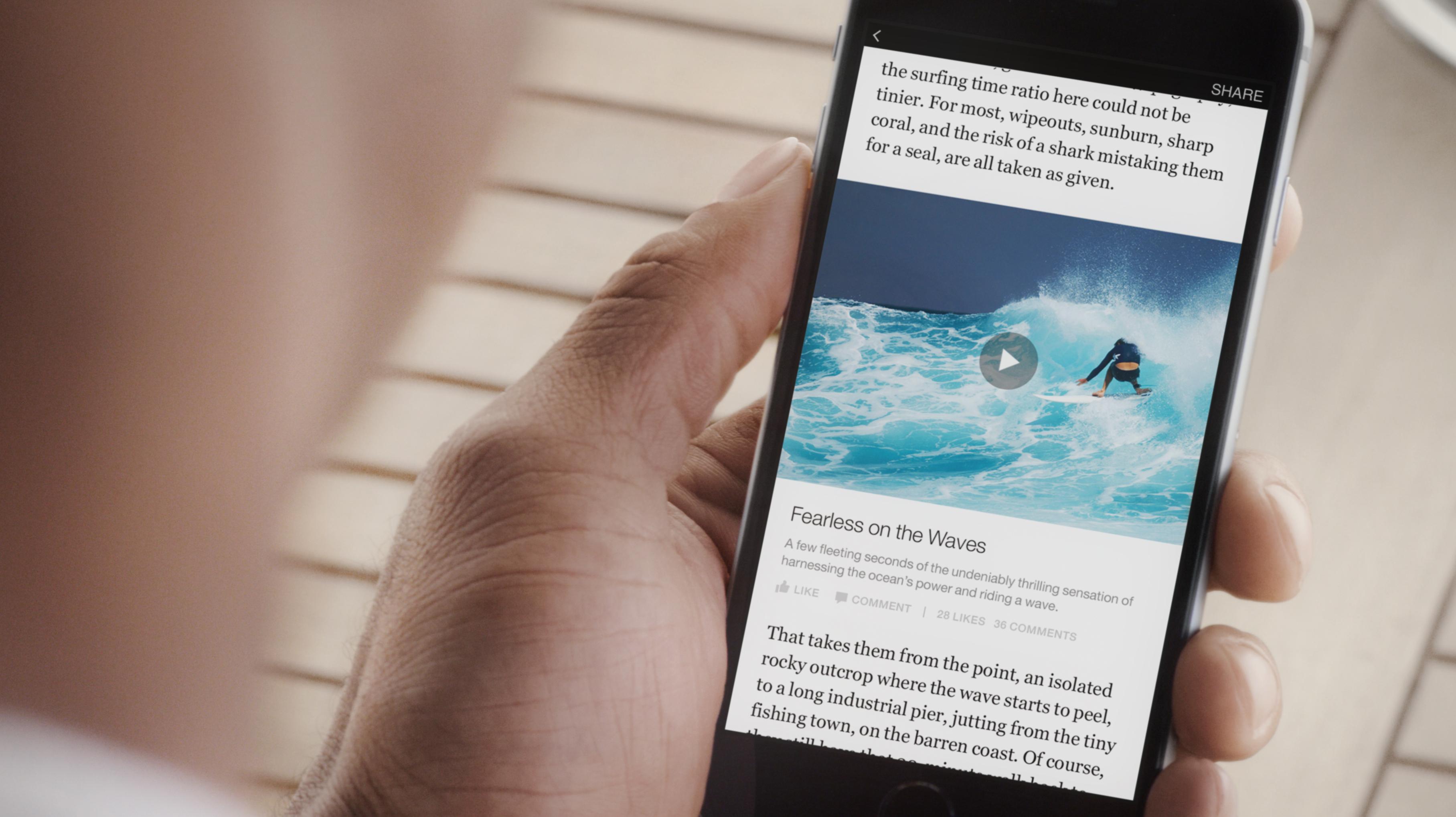 Artículos instantáneos de Facebook, facebook instant articles