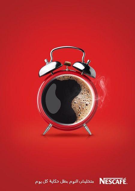 publicidad de café, anuncio de café, street marketing