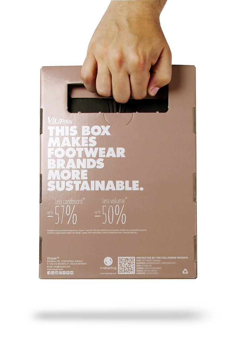 packaging sostenible, packaging de calzado, packaging de zapatos